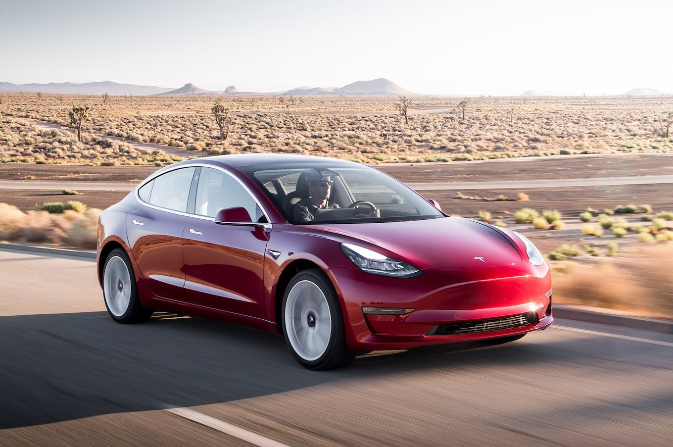 Tesla posts delivery record