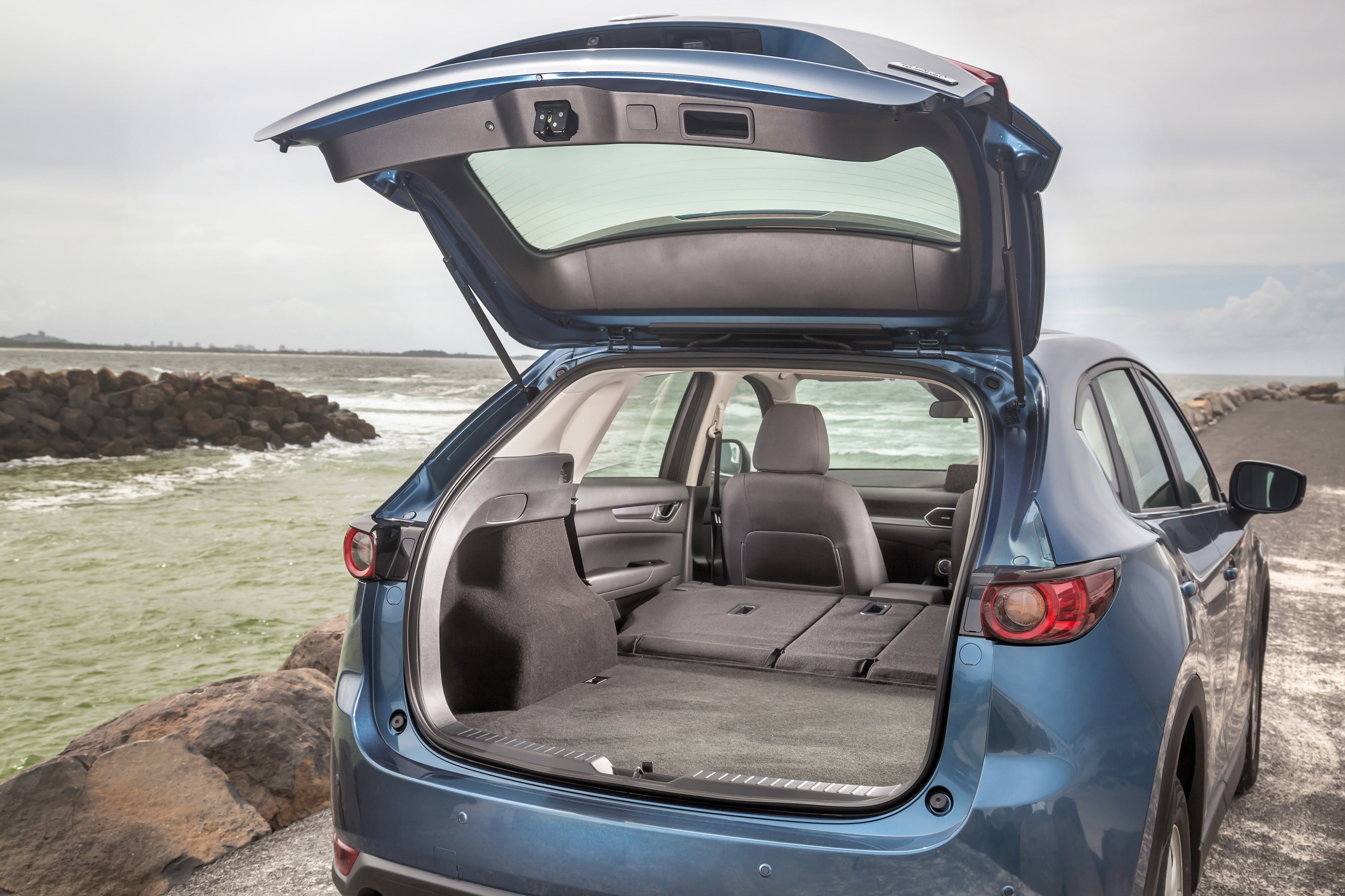 How much boot space does your medium SUV have?