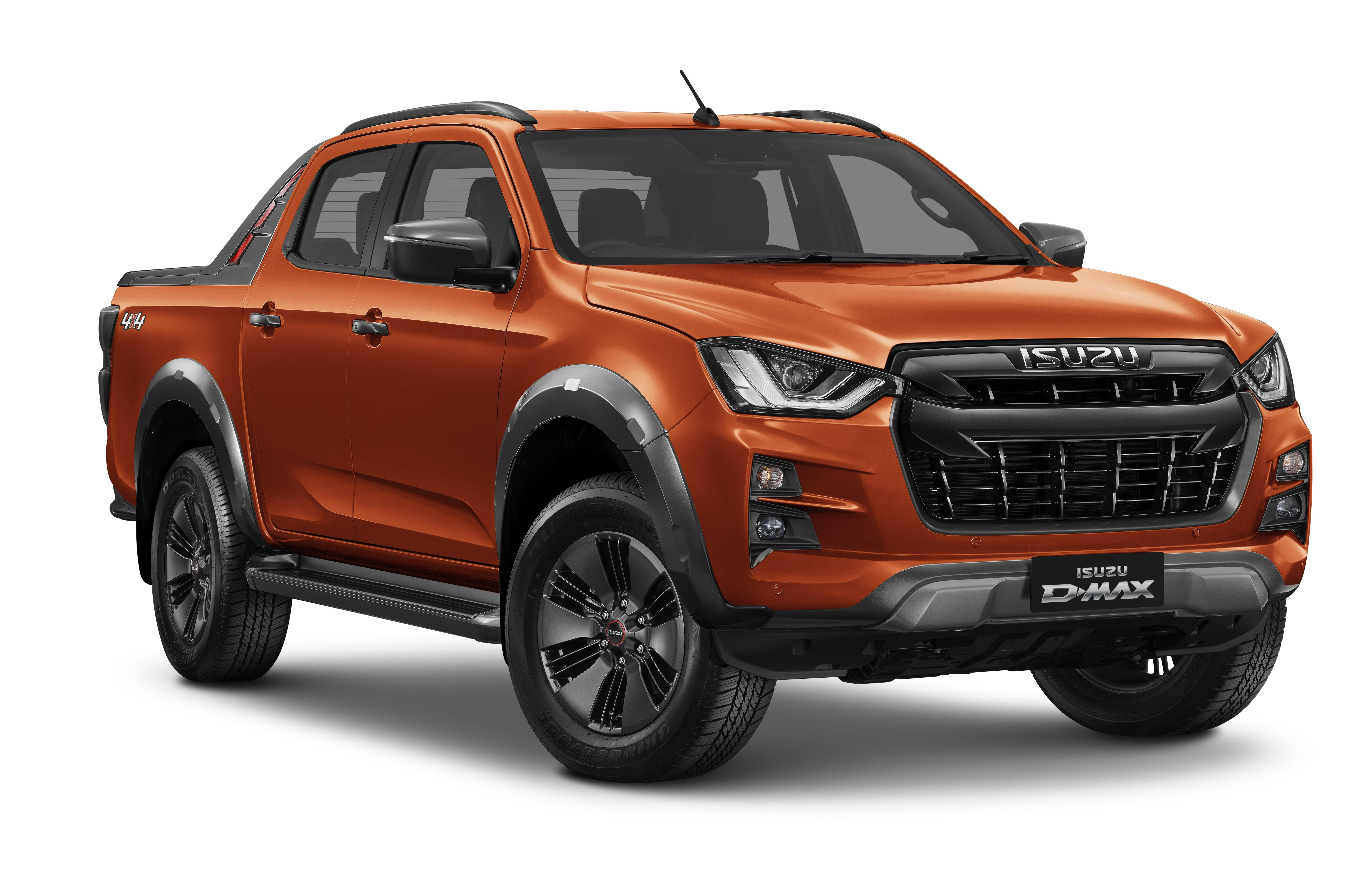New Isuzu D-Max, Ford Ranger and Toyota HiLux compared