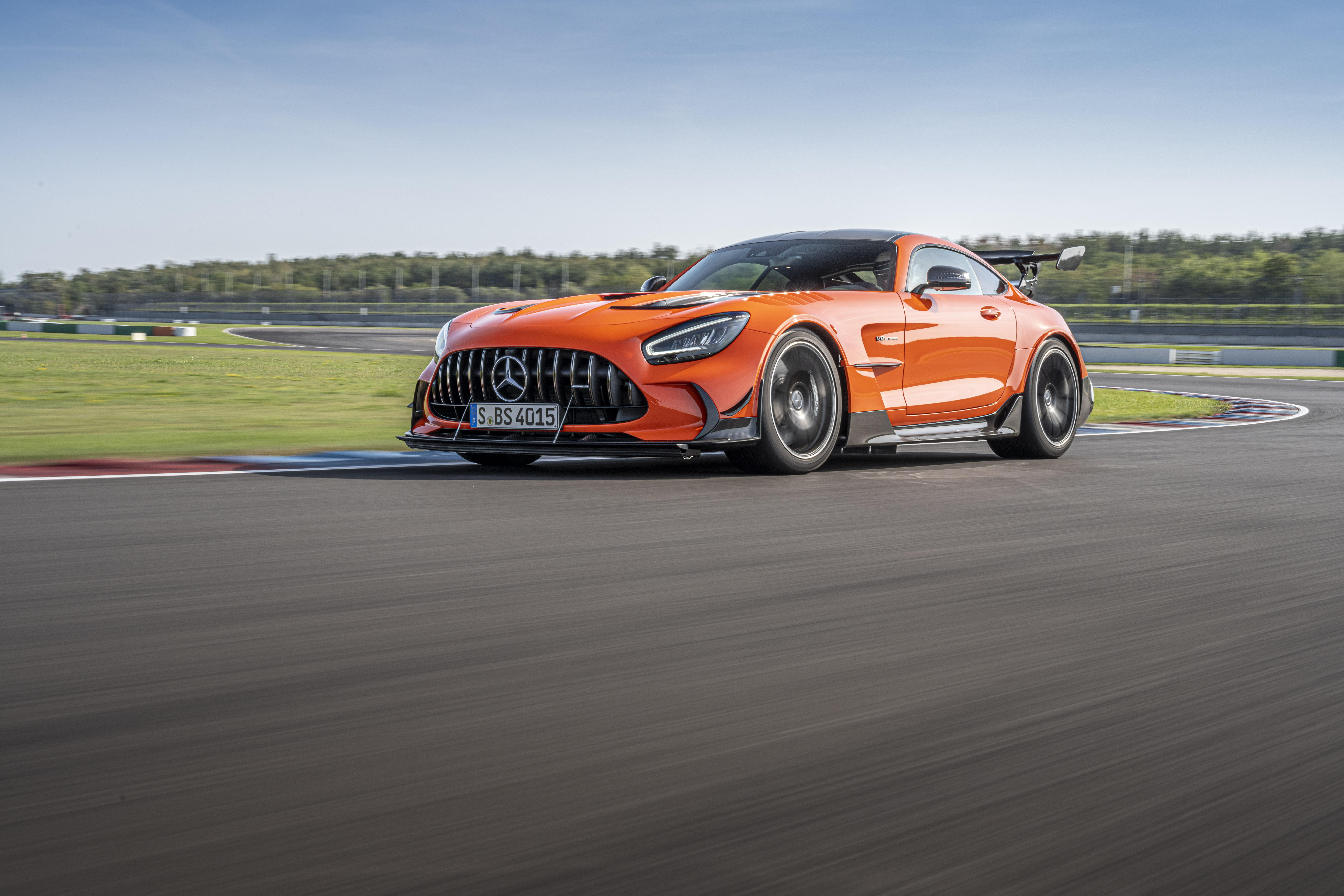 2021 Mercedes-AMG GT Black Series price and specs