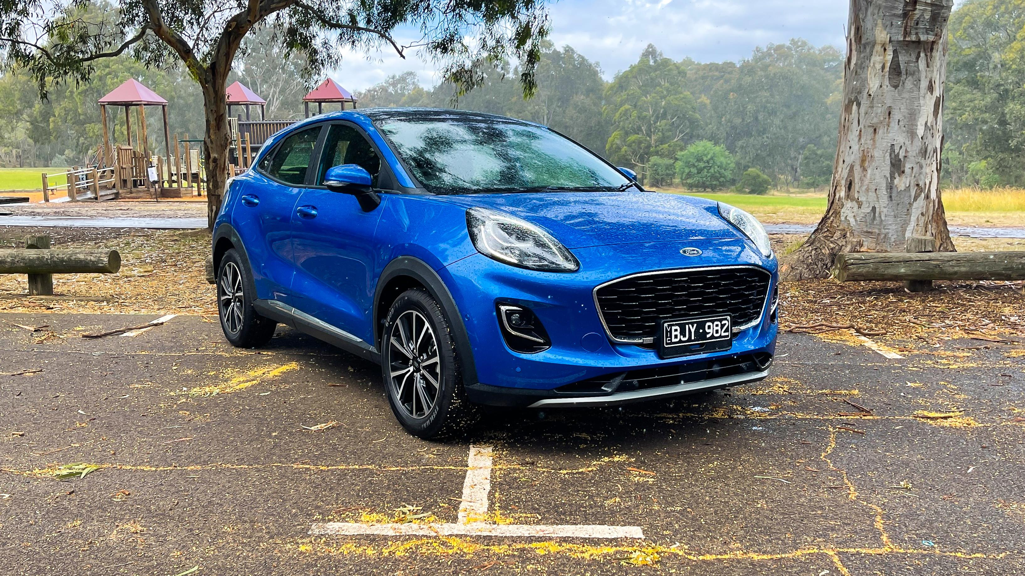 2021 Ford Puma FWD review