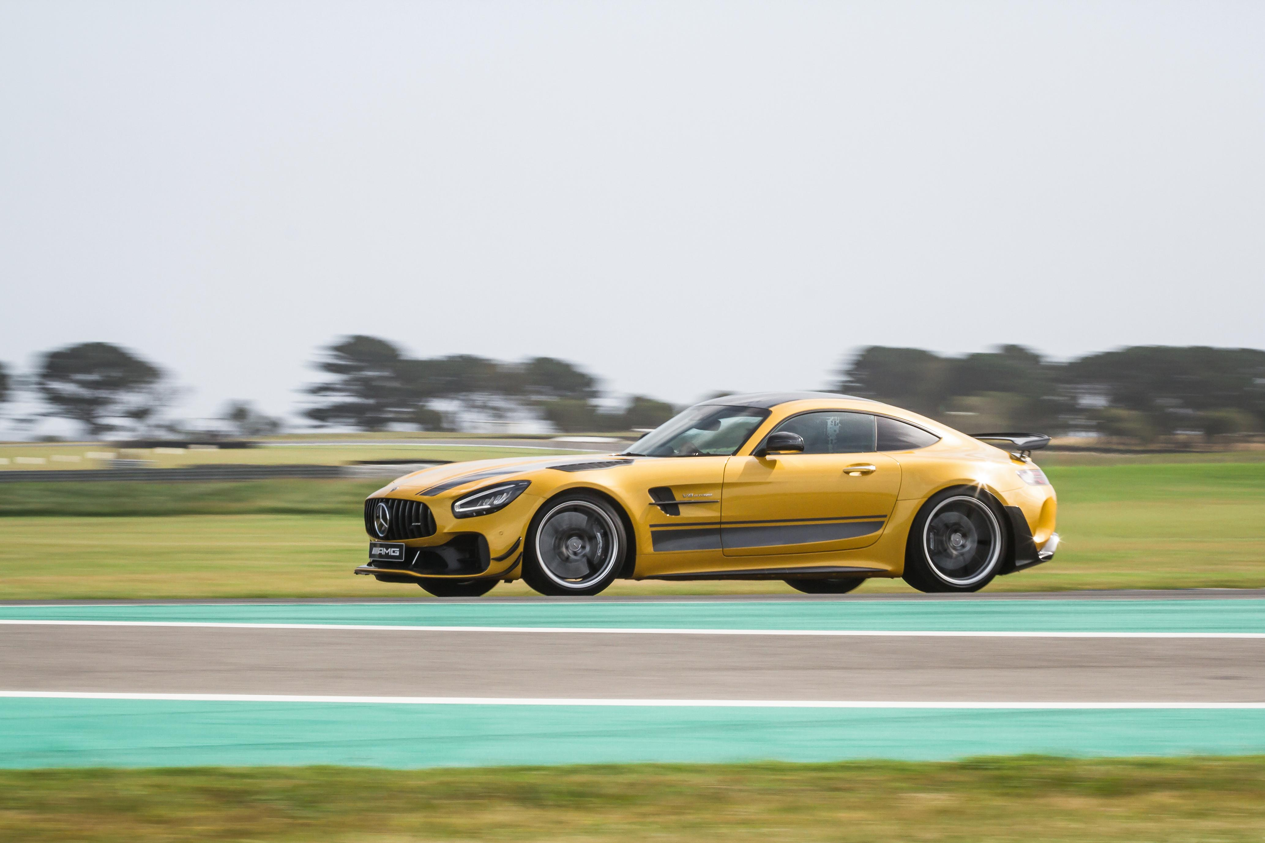 2021 Mercedes-AMG GT R Pro track review