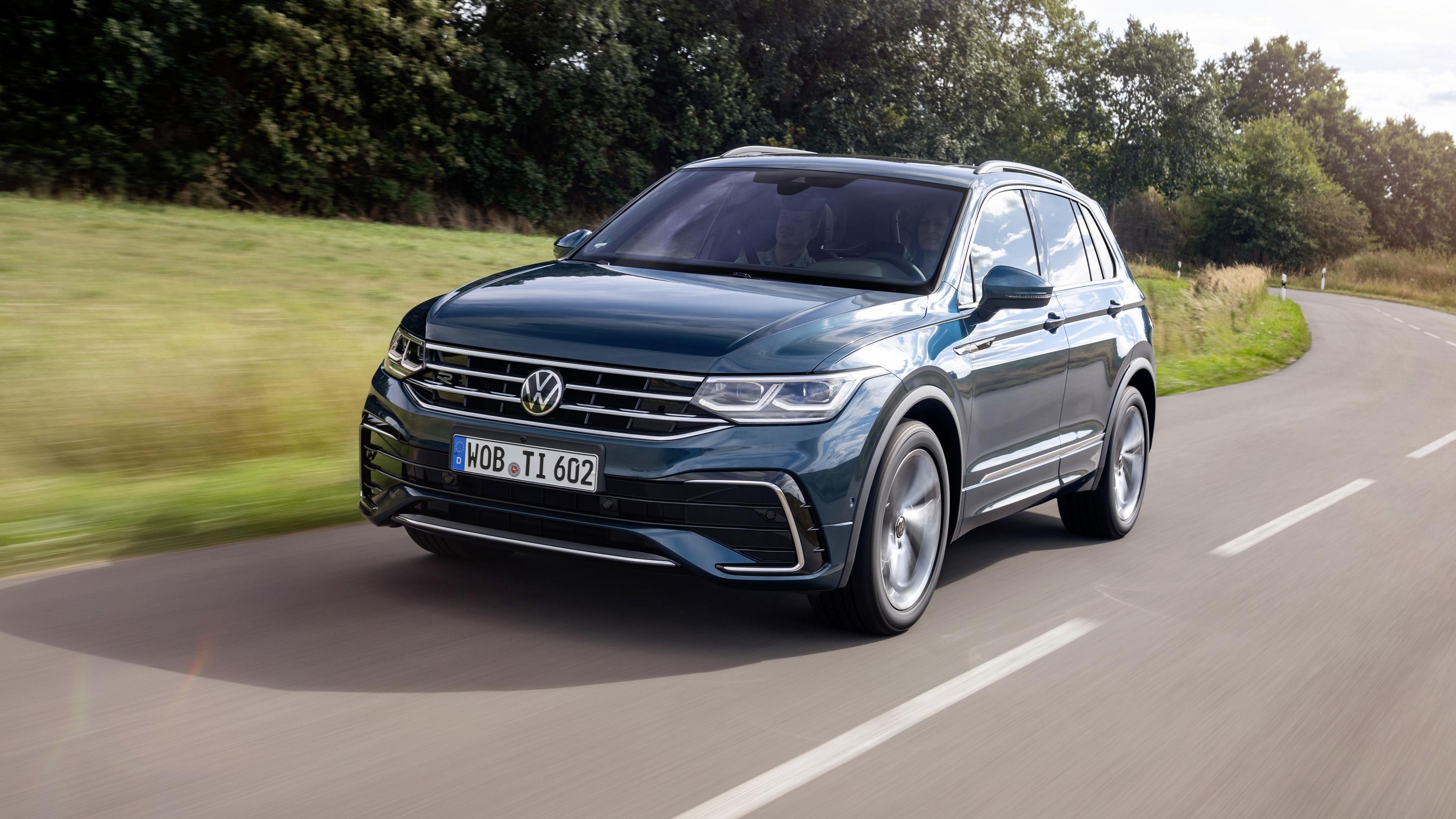 2021 Volkswagen Tiguan: Initial details