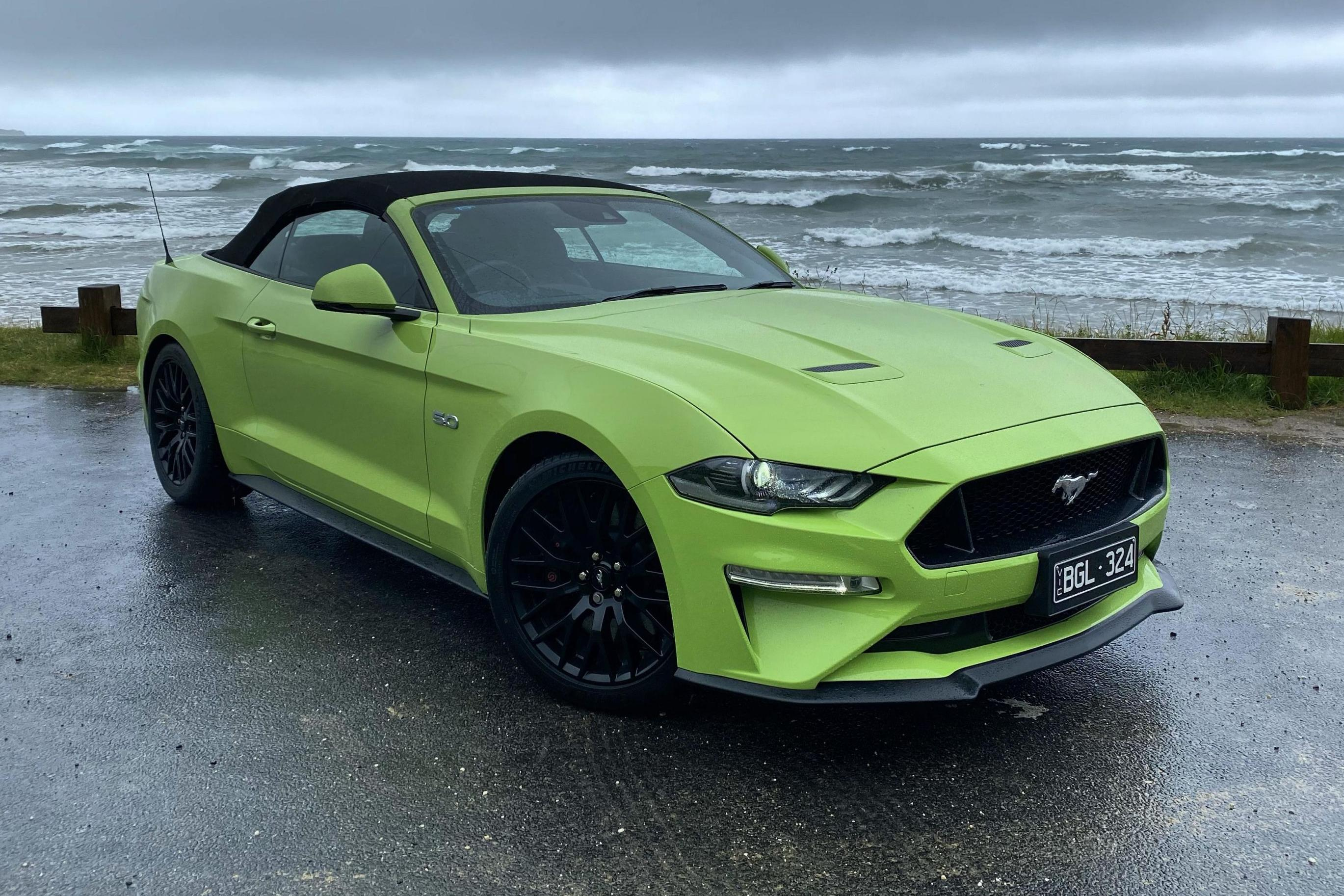 2021 Ford Mustang GT Convertible review