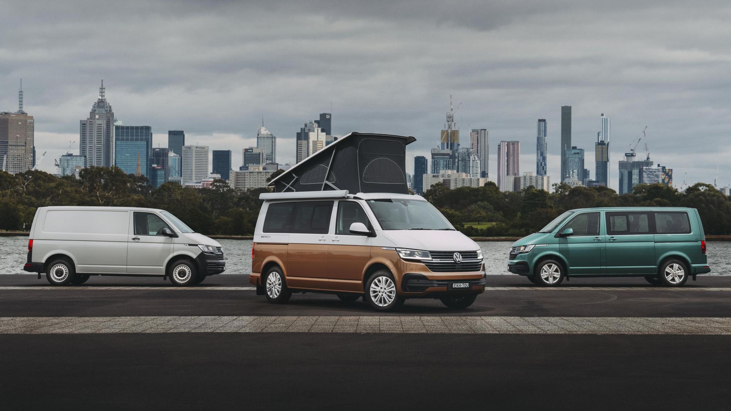 2021 Volkswagen Transporter 'T6.1' range review