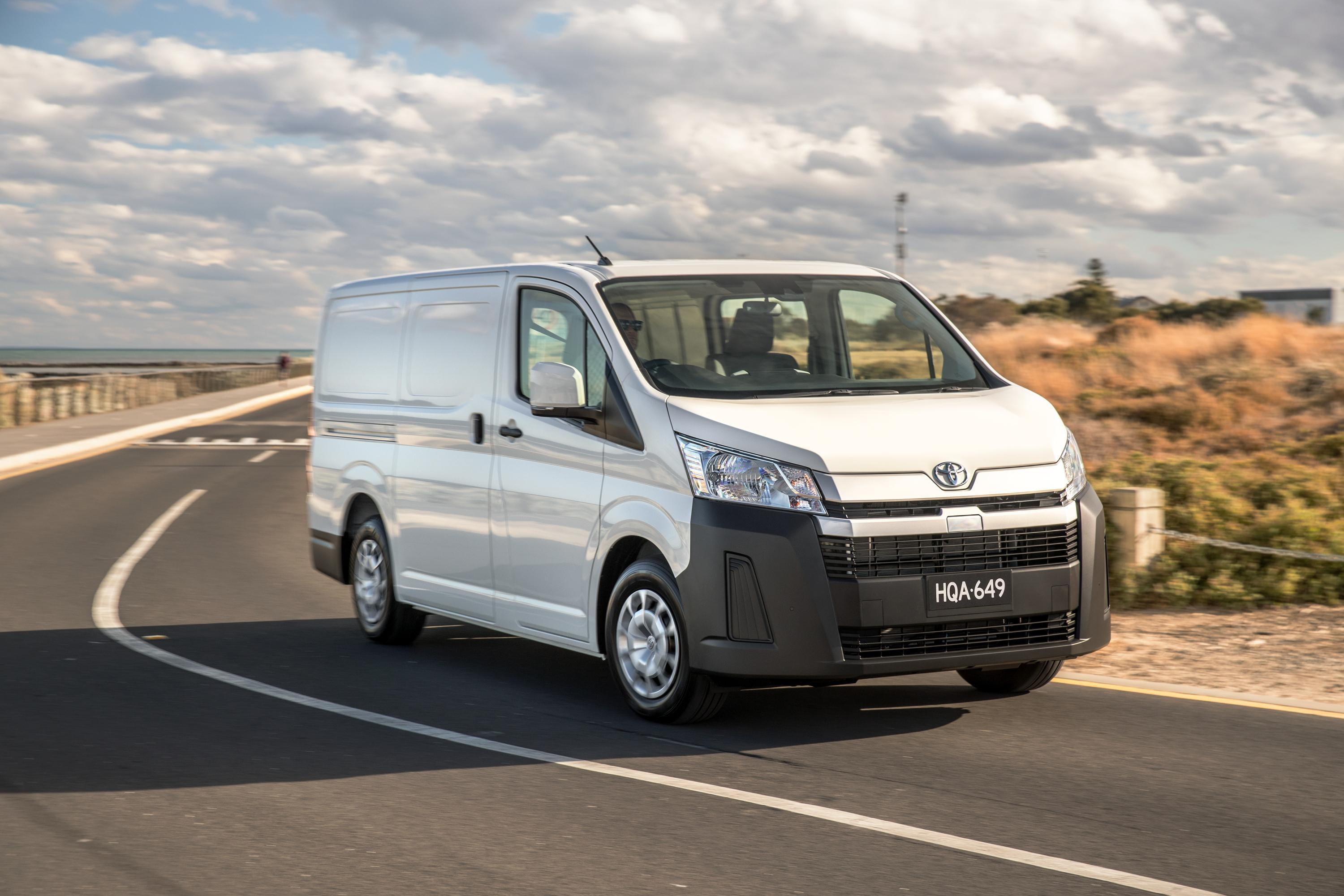 2022 Toyota HiAce price and specs
