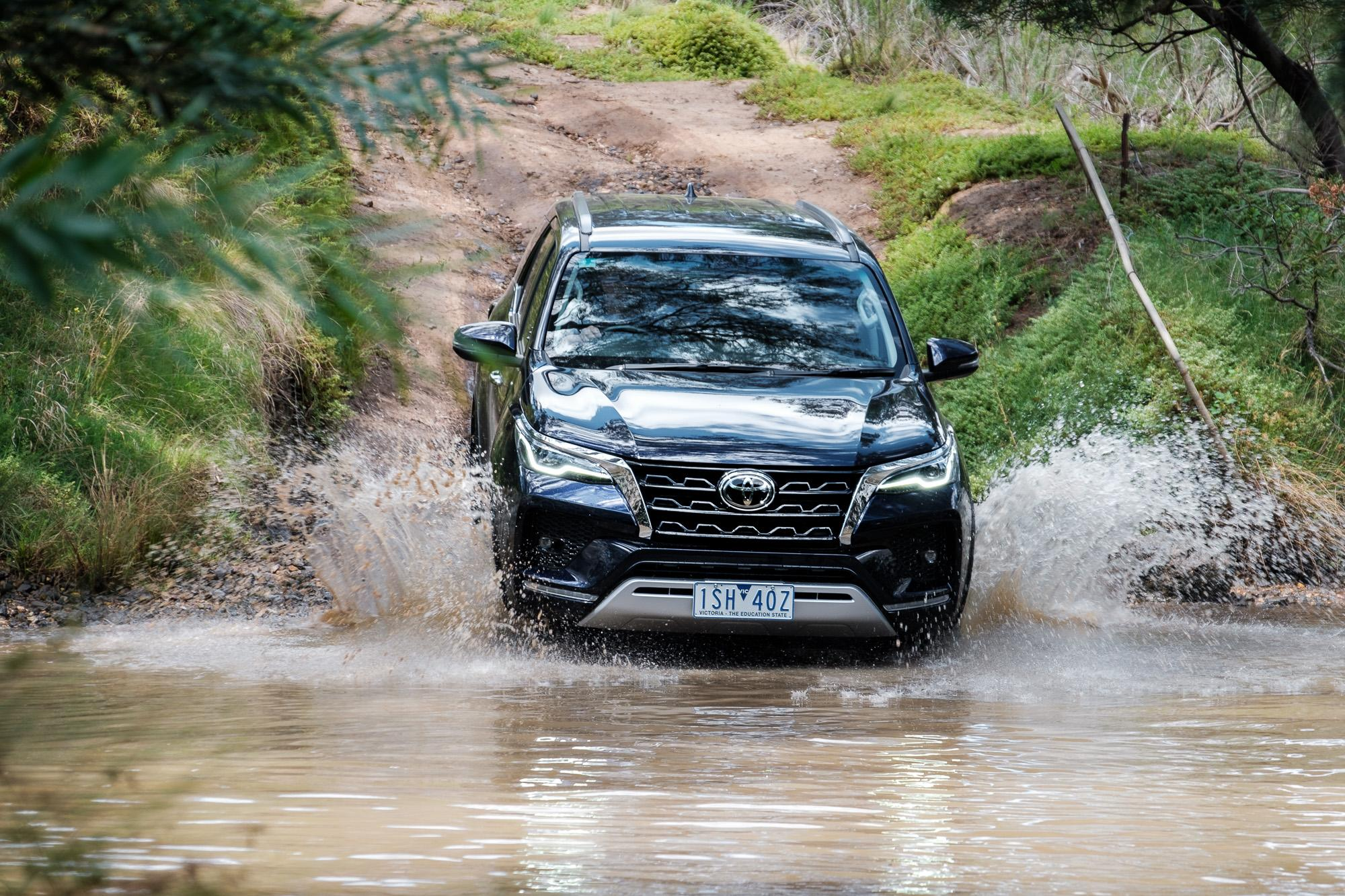 2021 Toyota Fortuner Crusade off-road review