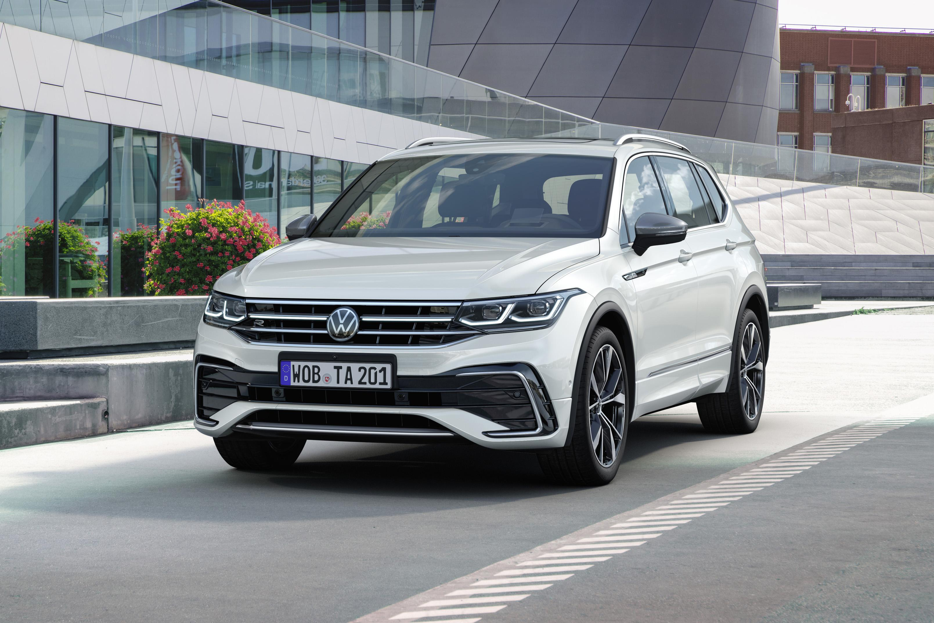 2022 Volkswagen Tiguan Allspace revealed, here early next year