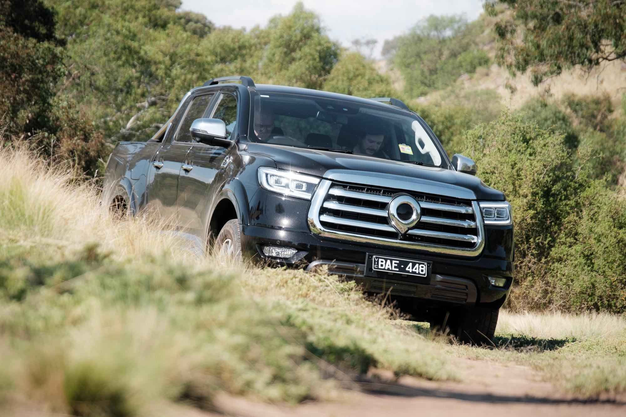 2021 GWM Ute off-road review