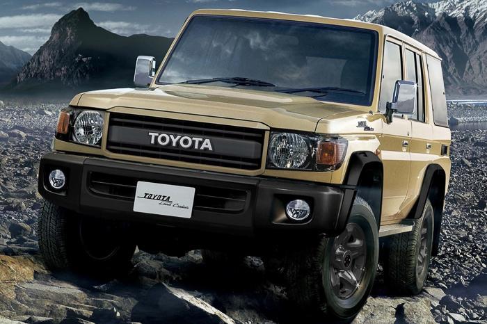 2021 Toyota LandCruiser 70 Series 70th Anniversary prices