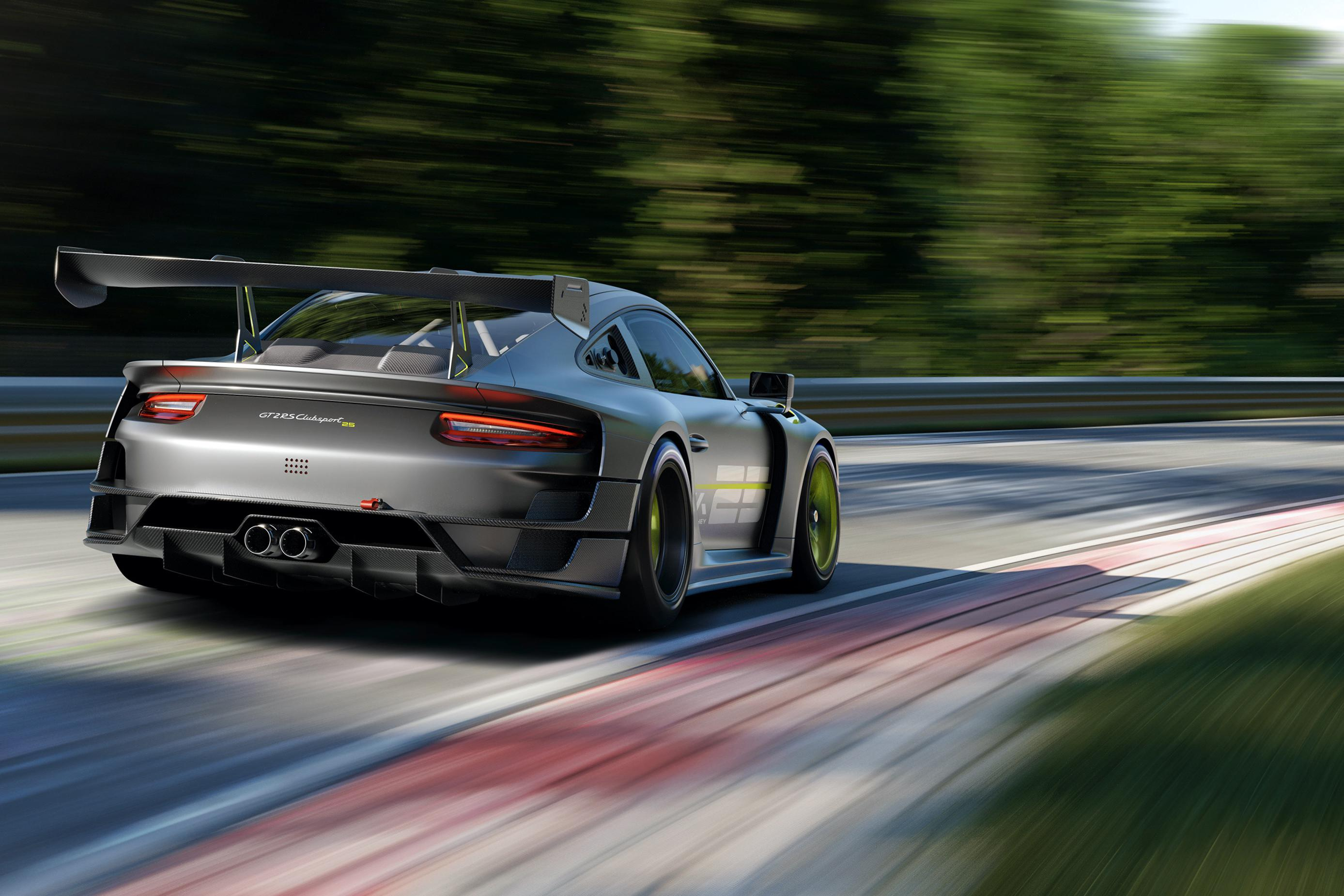Porsche 911 GT2 RS Clubsport 25 celebrates 25 years of Manthey-Racing