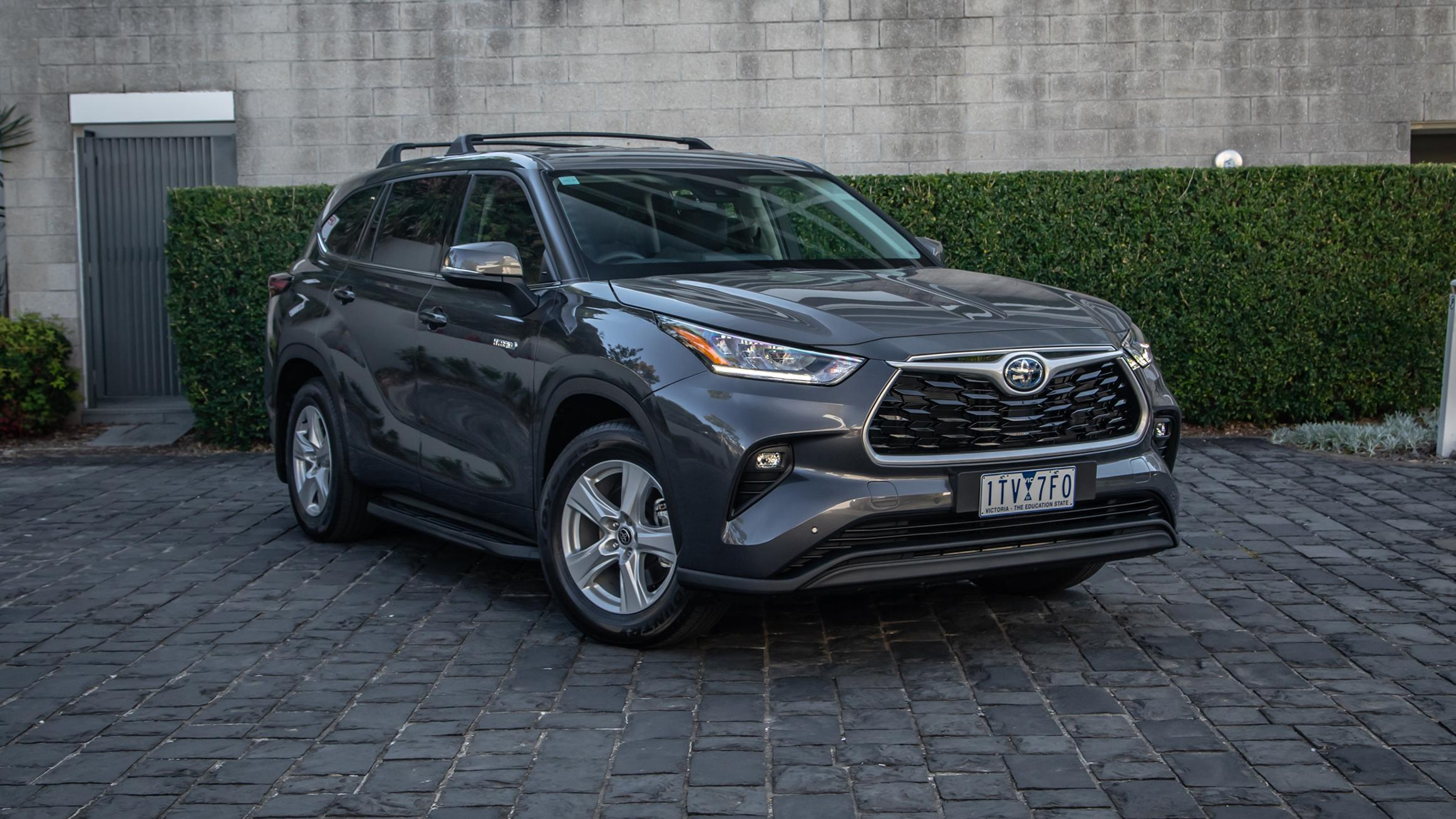 2022 Toyota Kluger Hybrid review