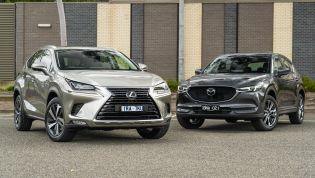 2021 Lexus NX v Mazda CX-5 comparison