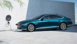 Genesis Electrified G80 here in early 2022