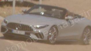 2022 Mercedes-AMG SL leaked