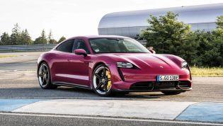 2022 Porsche Taycan updated from September build