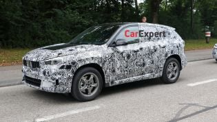 2023 BMW X1 spied inside and out