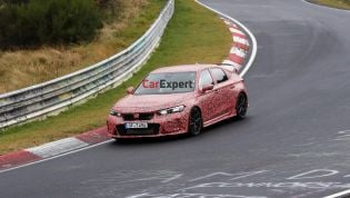 Is Honda chasing a Nurburgring lap record with the new Civic Type R?