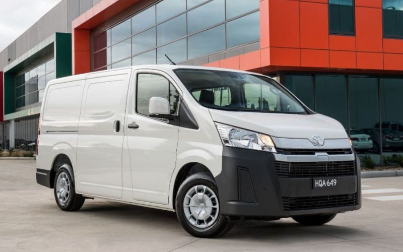 2021 Toyota HiAce LWB (4 DOOR OPTION)
