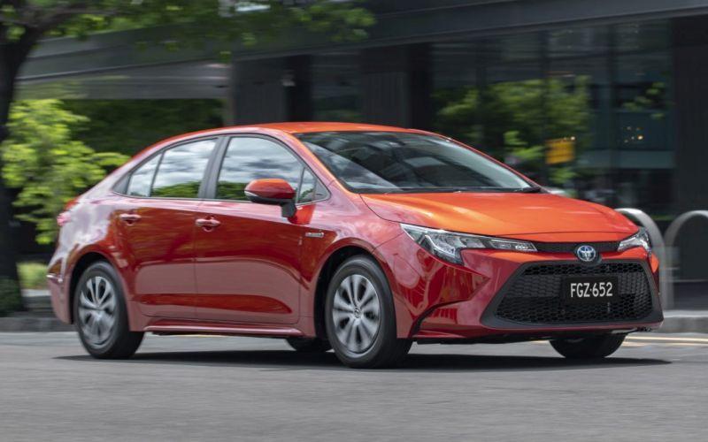 2021 Toyota Corolla ASCENT SPORT HYBRID