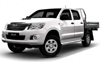 2012 Toyota HiLux SR (4x4)