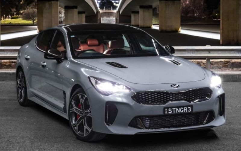 2020 Kia Stinger GT (RED LEATHER)