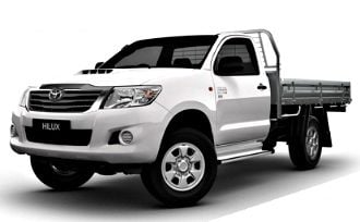 2012 Toyota HiLux WORKMATE (4x4)